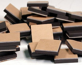 """Magnets 3/4"""" Square With Adhesive Foam Backing 250 PCS!"""