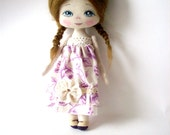 cloth doll, rag doll, gift for girl, nursery decoration,