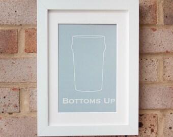 Bottoms Up - Gicleé Print