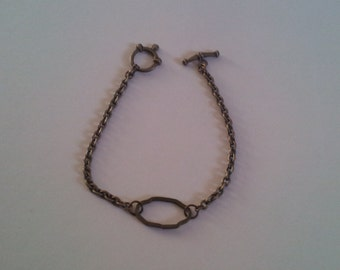 Antique Brass Chain Bracelet