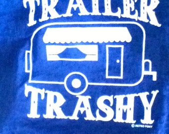 This adorable burn out tee is a favorite for the Trailer Trashy gal!