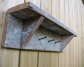 Items Similar To Rustic Shelf Barnwood Shelf Rustic