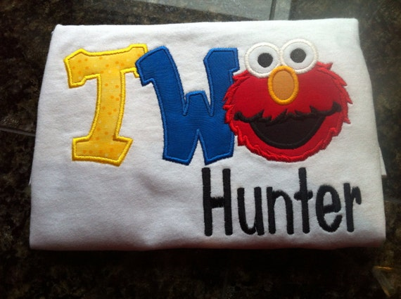Elmos 2nd Birthday Shirt