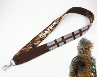 Chewbacca Wookiee Personalized Lanyard For Pin Trading Id