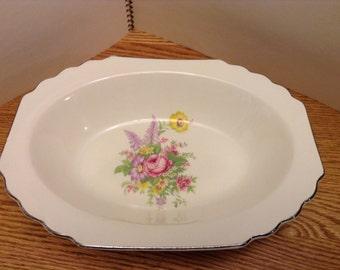 Vintage WS George Rectangular Bowl