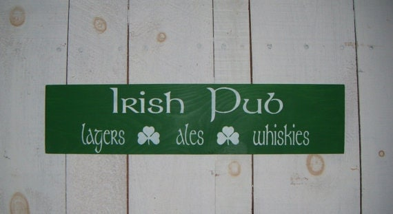 Irish Man Cave Signs : Irish pub sign bar signs ireland st by