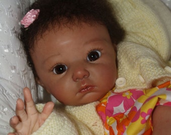 CUSTOM Reborn Bi-Racial / AA / African American Baby