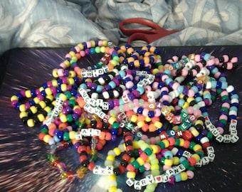 Personalized Kandi bracelets