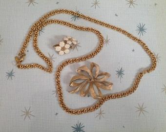 Vintage Monet Jewelry Lot
