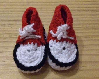 Babyshoes - sportshoes - crochet - handmade - 10057