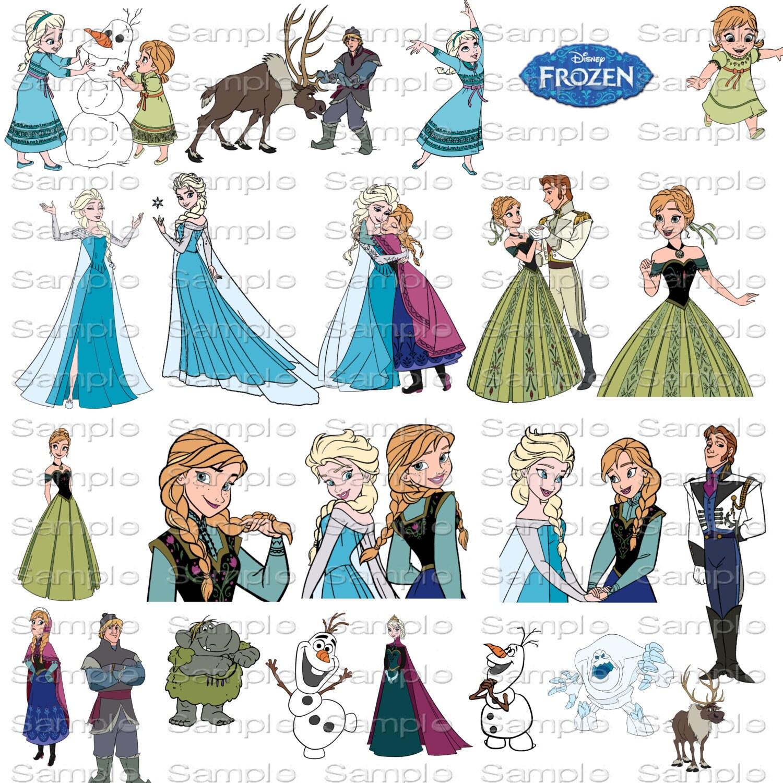 Disney Frozen Clip Art Clipart Resizeable Quick by ...