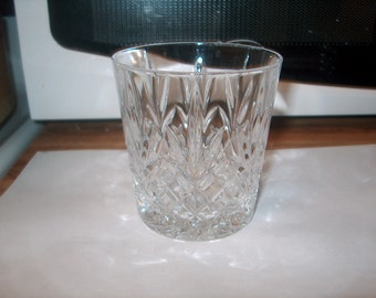 4 Vintage Crystal Glass Tumblers Glasses, Price for all 4, WAS 25.00 - 20% = 20.00