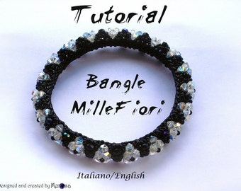 Bangle MilleFiori ( Tutorial graphics pictures in italiano and English)