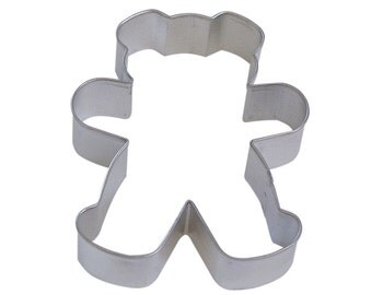 "4""  Teddy Bear Cookie Cutters Baking party supplies cake decorating clay fondant decorations 1139"