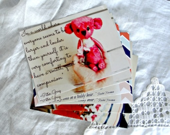 Postcards   Set of 6 Featuring Something Special Bears