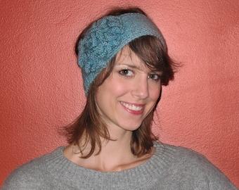 Flower Headband knitting pattern