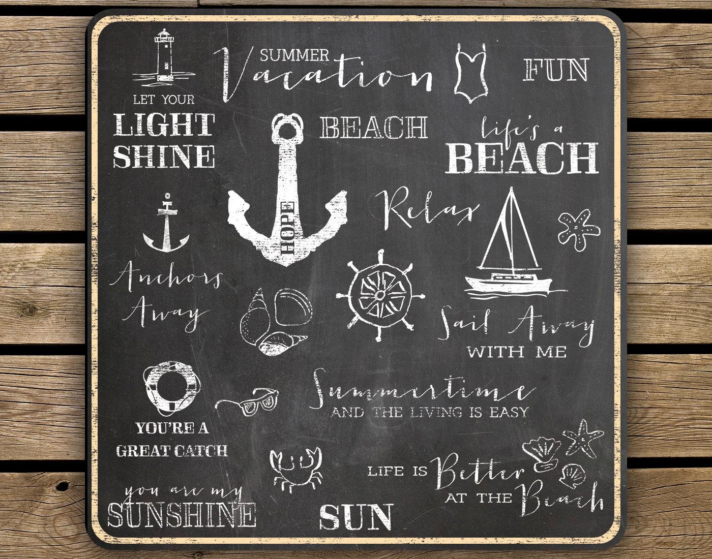 Pinterest Summer Chalkboard Clipart Chalkboard Summer