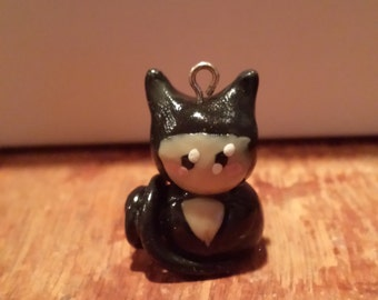 Cat Woman Clay Charm