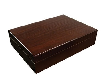 Personalized Humidor, The Bellevue 25 Cigar Humidor