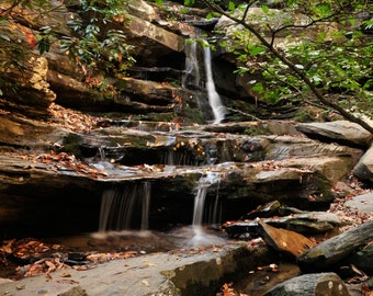 Waterfalls Card Collection - Hanging Rock NC