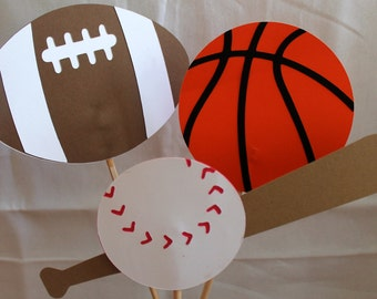 All Sports Birthday Party Centerpiece
