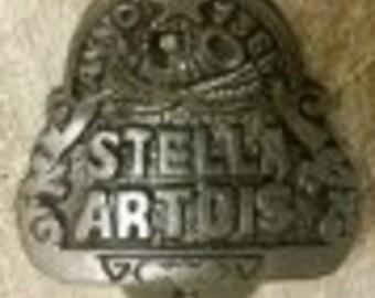 Vintage Retro Stella Artois Or Coca Cola Bottle Opener Cast Iron