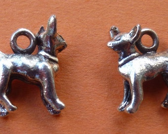 Chihuahua Dog Charms Set of 5
