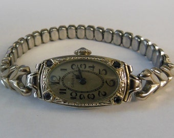 Vintage Gruen 14K Solid Gold Bracelet Watch