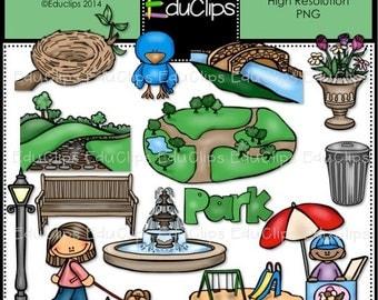 Park Clip Art Bundle