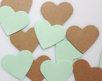 ANY COLOR HEART Confetti Punches (100ct)