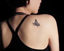 Butterfly design   temporary tattoo tattoo sticker  transfer tattoo body tattoo G004