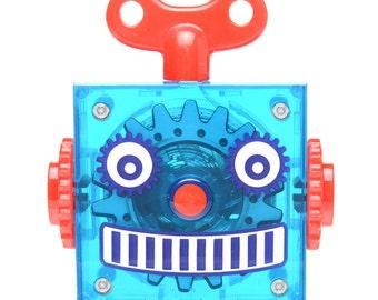 Blue Robot Tape Measure