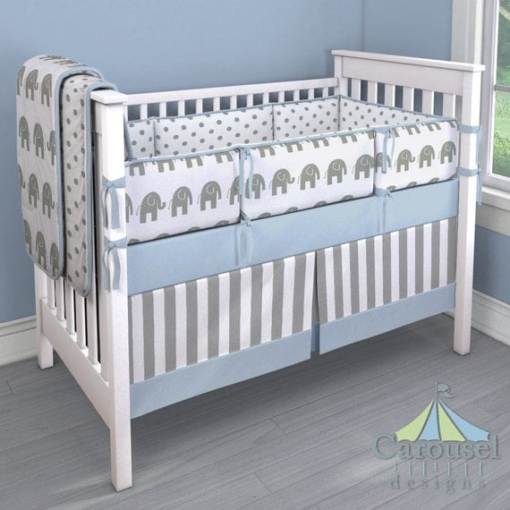 Boy Baby Crib Bedding Custom Boy Crib Bedding Idea Blue