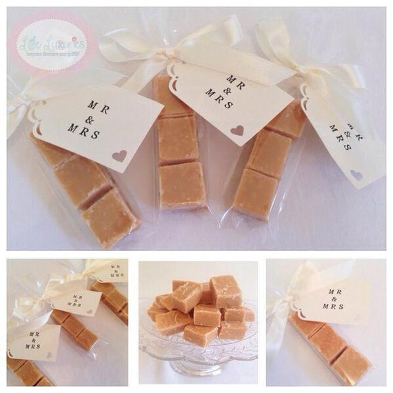 Scottish Wedding Gifts: Items Similar To Homemade Scottish Tablet Wedding Favour
