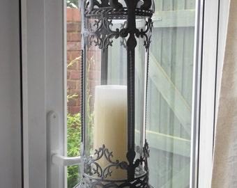 Decorative Hanging Hurricane Lantern