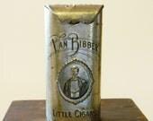 Vintage Van Bibber Tin Cigar Box, Vintage Cigar Container, Vintage Cigar Tin, Cigar Holder