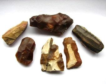 "Prehistoric Stone Age Neolithic Chert and Stone  ""Sahara"" Tool Assemblage Circa: 5,000 - 3,000 BC"