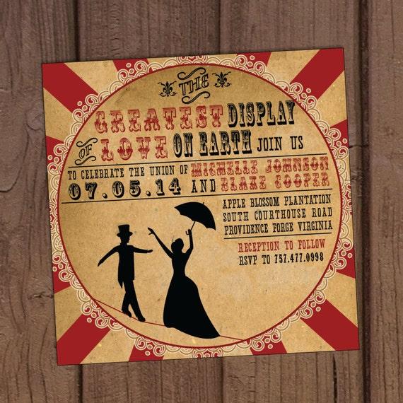 Vintage Circus Invitations 54