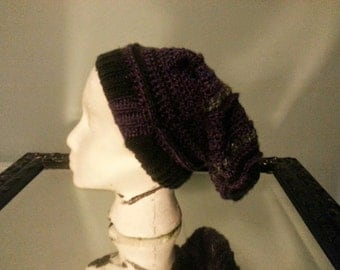 Custom Handmade slouch hat beanie- Extra long