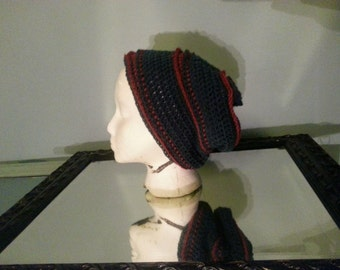 Handmade slouch hat beanie
