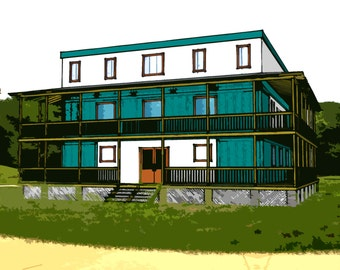 Shipping Container Plans 6 Bed 5 1/2 Bath - Schematic Design 4800 sf