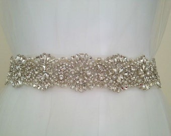 Crystal Bridal Sash/Belt Wedding Dress belt Sash