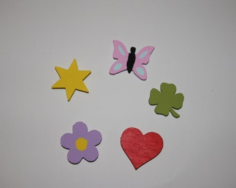 magnet with different motifs 3 pc in set