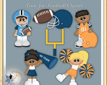 Time for Football Clipart
