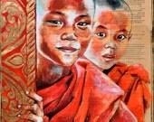 Duo de novices birmans