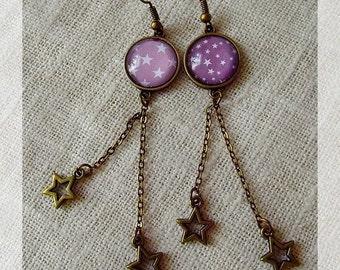 """Earrings """"Meteors"""""""
