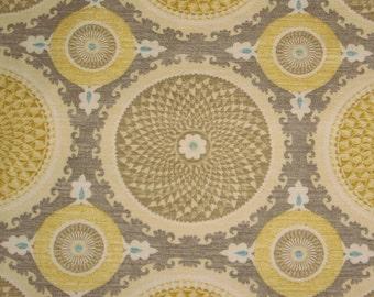 Gray. Gold. Cream. Mosiac Design. Pillow Covers. Fabric from New York. Decorator Pillow. Modern Look. Handmade. Cording with zipper closure