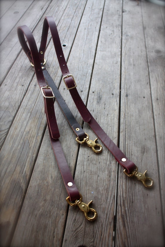 Leather suspenders have been used to hold up men's pants for over a century before the belt took over fashion. In the s, s and s suspenders were button on, mostly made of leather or a strong cotton wedding for work attire.