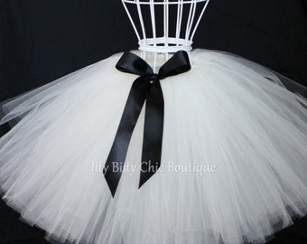 Childrens Any Color Full-Length Romantic Long Tutu Skirt  Wedding Tutu Flower Girl Photo Prop Dress-Up Princess Costume Birthday