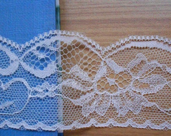 wedding invitation lace trim ,Lace Trim Vintage - IVORY - 2INCH WiDE SeWiNG CRaFTS WeDDiNG,